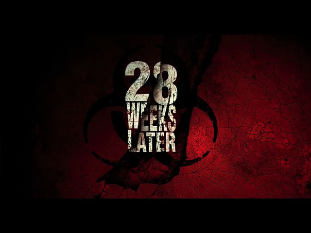 28 Weeks Later movie trailer title