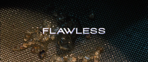 Flawless (2007) Michael Caine - blu-ray movie title