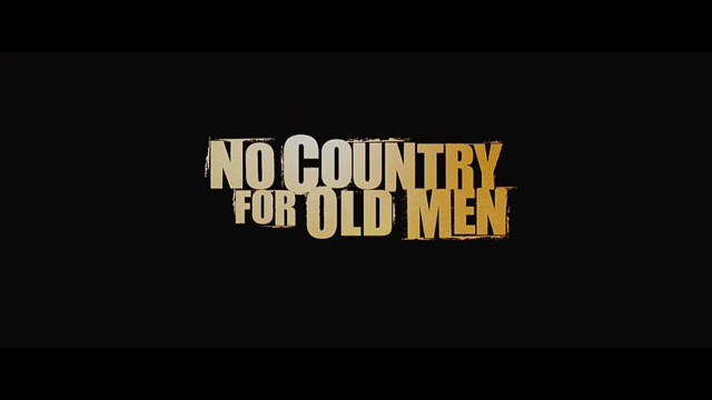 No Country for Old Men movie trailer title