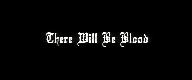 There Will Be Blood (2007) blu-ray movie title