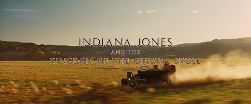 Indiana Jones and the Kingdom of the Crystal Skull (2008) Steven Spielberg - Blu-ray movie title