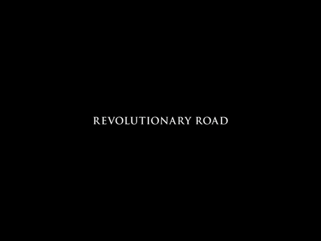 Revolutionary road 2008 movie title