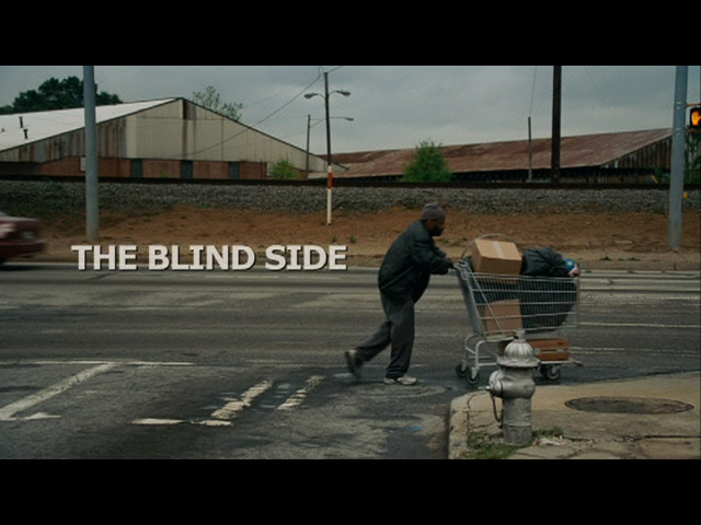The Blind Side 2009 movie title
