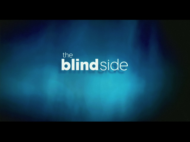 The Blind Side movie trailer title
