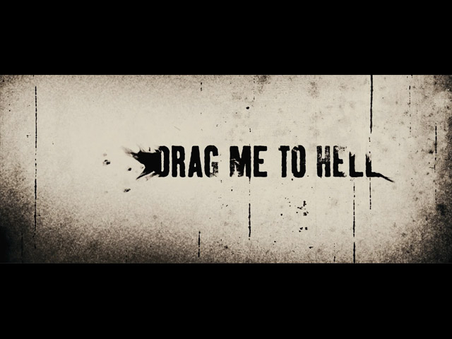 Drag me to hell movie trailer title