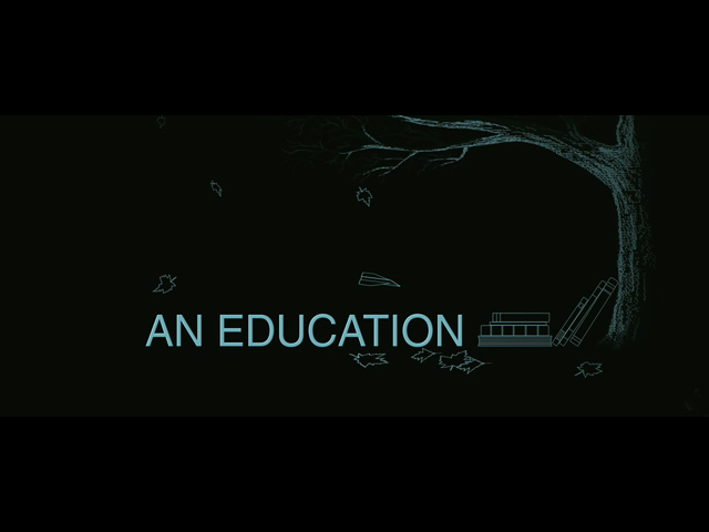 An Education movie trailer title