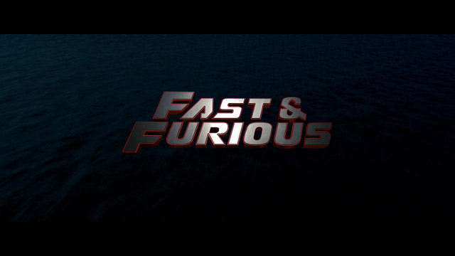 Fast & Furious 2009 movie title