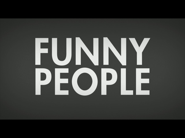 Funny people movie trailer title