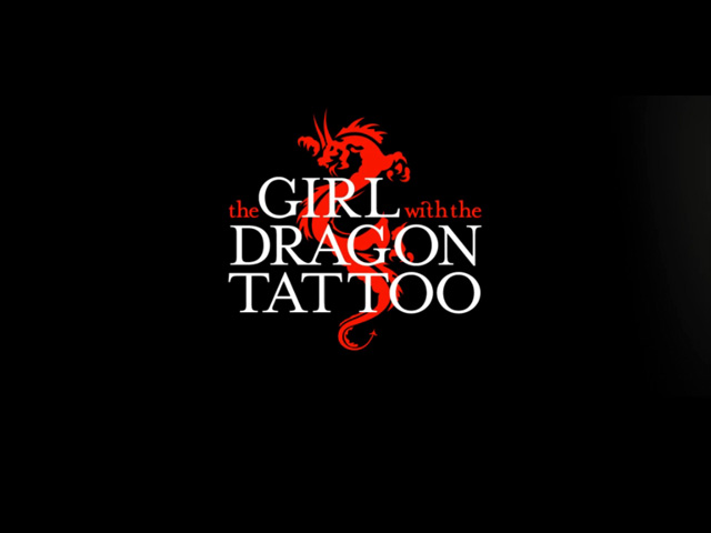 The Girl with the Dragon Tattoo movie trailer title screen shot