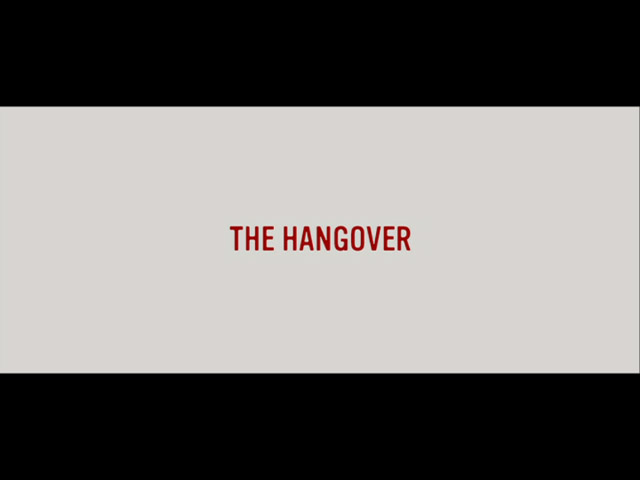 The hangover 2009 movie title