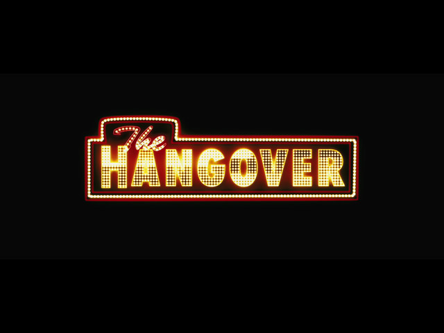 The hangover movie trailer title