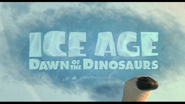 Ice Age: Dawn of the Dinosaurs 2009 movie title