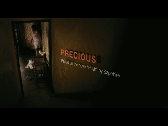 Precious: Based on the Novel Push by Sapphire movie trailer title