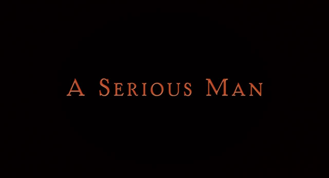 A Serious Man (2009) blu-ray movie title