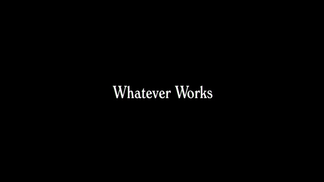 Whatever Works 2009 movie title