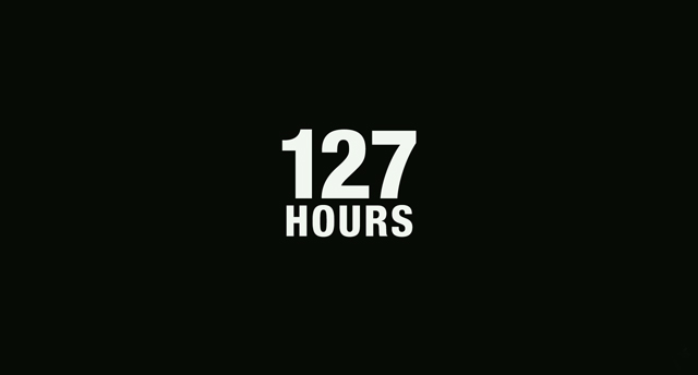 127 Hours movie trailer title