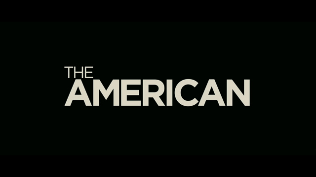 The American movie trailer title