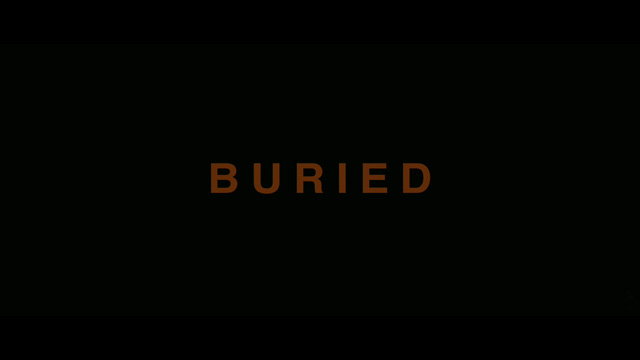 Buried movie trailer title