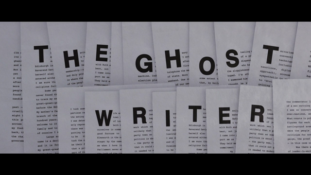 The Ghost Writer 2010 movie title