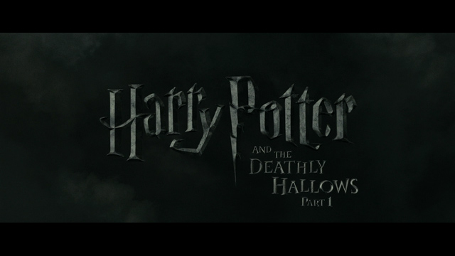 Harry Potter and the Deathly Hallows: Part 1 (2010) movie title