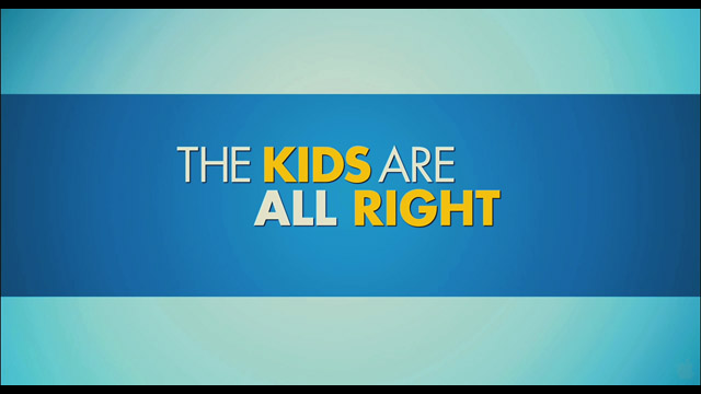 The kids are all right movie trailer title