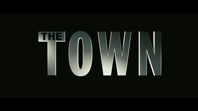 The Town movie trailer title