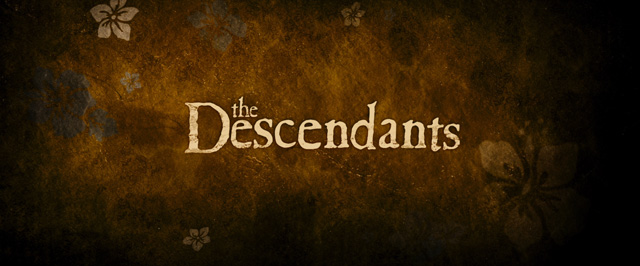 The Descendants 2011 George Clooney Movie Title And Typography