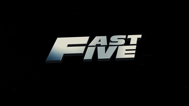Fast Five 2011 movie title