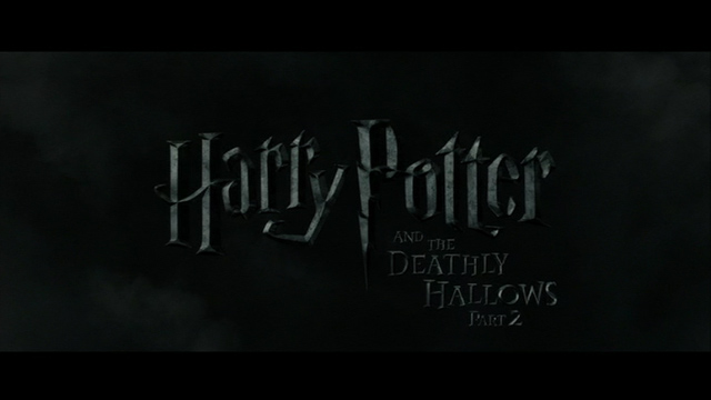 Harry Potter and the Deathly Hallows: Part 2 (2011) movie title