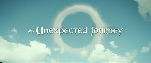 The Hobbit: An Unexpected Journey (2012) Warner Bros. - blu-ray movie title