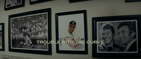 Trouble with the Curve (2012) Clint Eastwood - blu-ray movie title