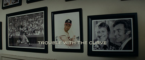 Trouble with the Curve (2012) Warner Bros. - blu-ray movie title