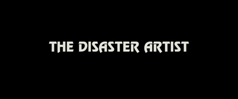 The Disaster Artist (2017) Warner Bros. - blu-ray movie title