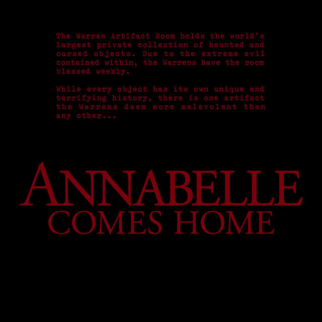 Annabelle Comes Home 2019 Title Sequence