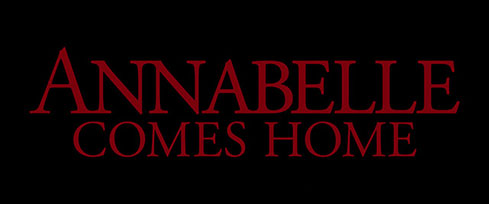 Annabelle Comes Home (2019) Warner Bros. - blu-ray movie title