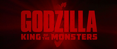 Godzilla: King of the Monsters (2019) Warner Bros. - blu-ray movie title