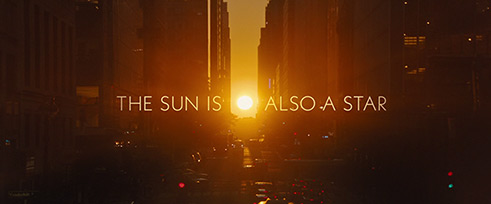 The Sun Is Also a Star (2019) Warner Bros. - blu-ray movie title